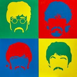 Пример нанесения художественного покрытия - образец Art-Beatles