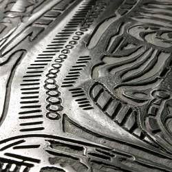 Пример нанесения художественного покрытия - образец Art-Chujoy