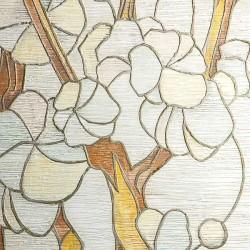Пример нанесения художественного покрытия - образец Art-Sakura