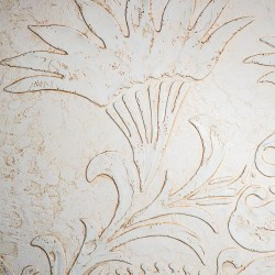 Пример нанесения художественного покрытия - образец Art-StoneFlower