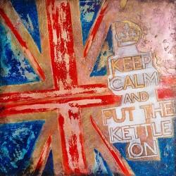 Пример нанесения художественного покрытия - образец Art-UnionJack