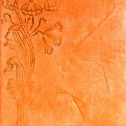 Пример нанесения фактурного трафаретного покрытия - образец RA01-30-81-05