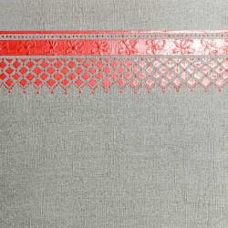 Пример нанесения фактурного трафаретного покрытия - образец T63-30-08
